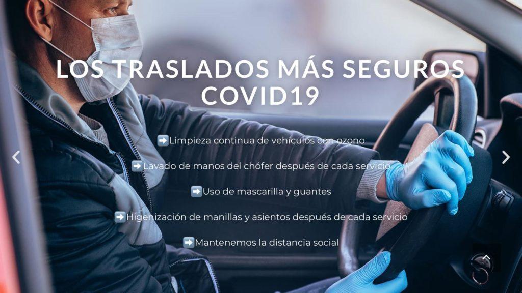 Traslados seguros COVID-19